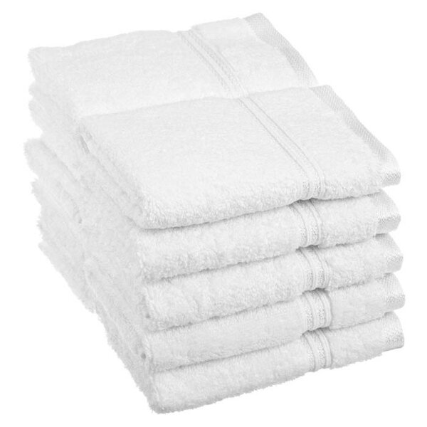 Patric 10 Piece 100% Cotton Washcloth Set by The Twillery Co.